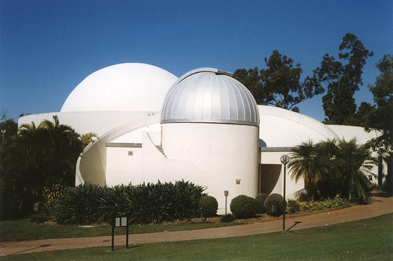The planetarium in Brisbane