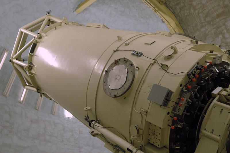 "The 107"" Harlan J Smith Telescope"