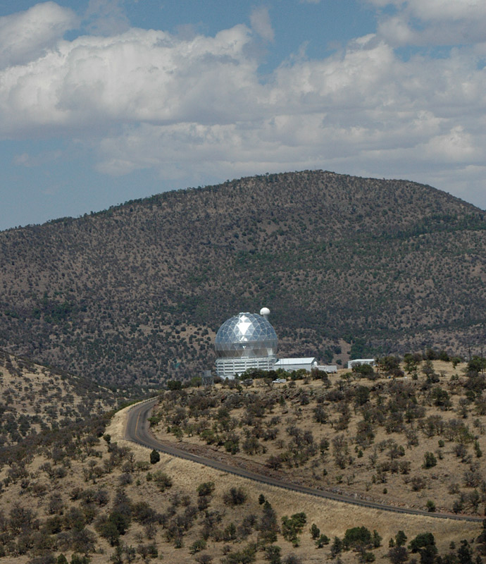The dome of the Hobby Eberly Telescope