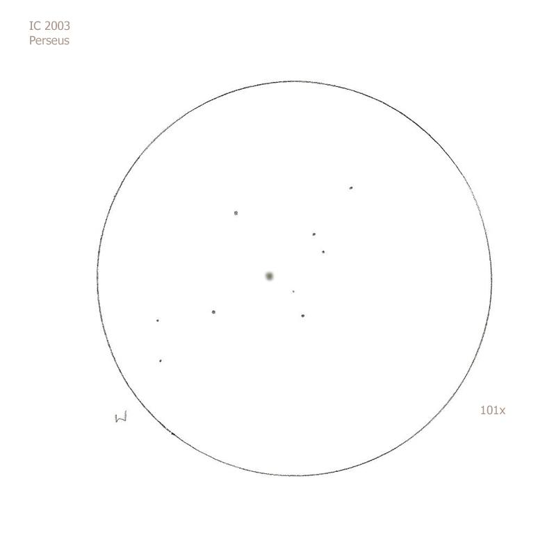 """IC 2003/Per, 12"""" f5 Dob, 101x/OIII, 6.0/II/II, S"""