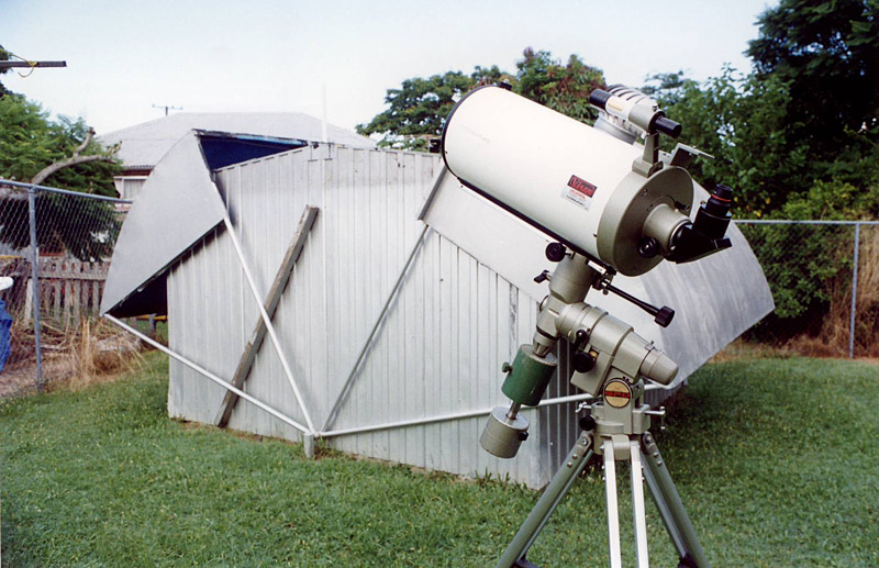 "Manly Observatory, housing an 8"" Classical Cassegrain (seen at front)."