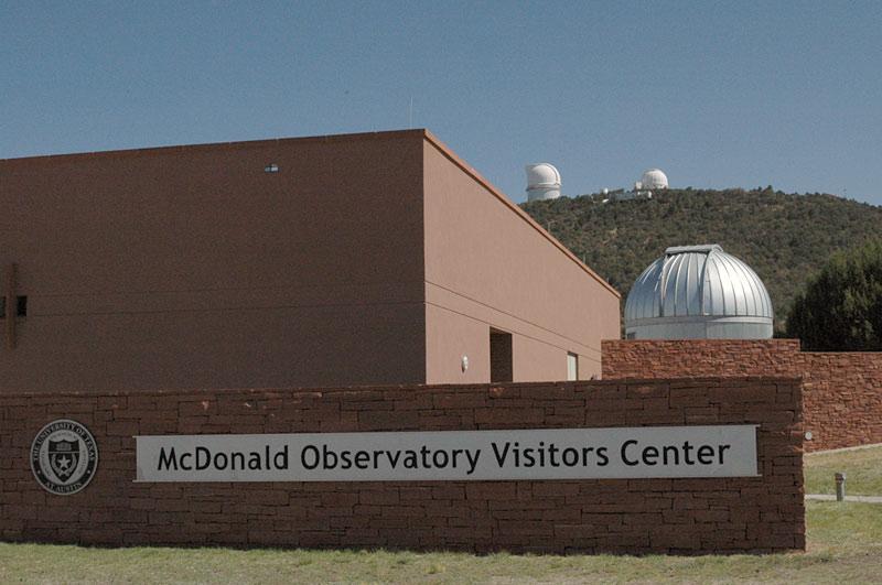 McDonald Observatory Visitor Center