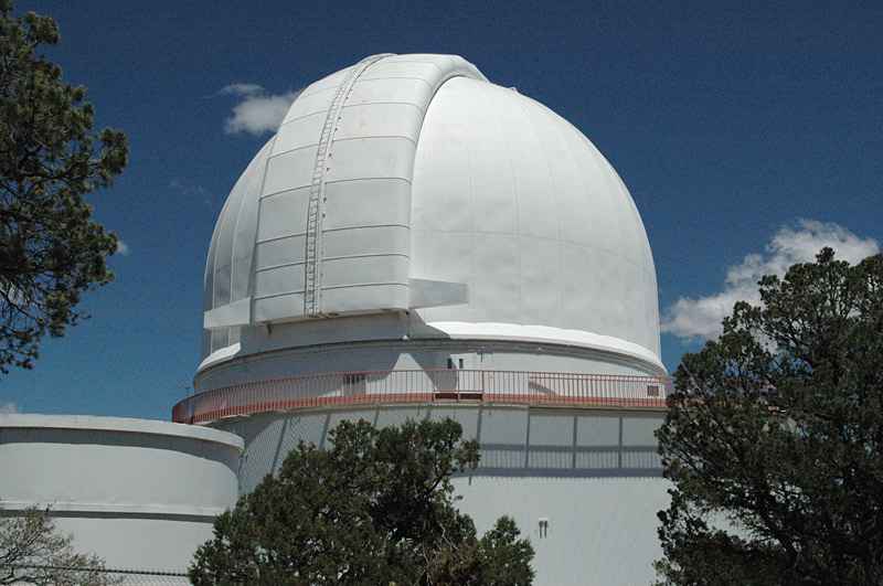 The Otto Struve dome at McDonald Observatory