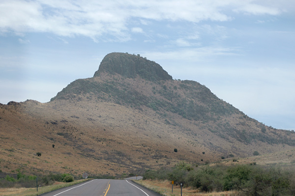 Scenery in the Davis Mountains
