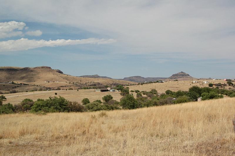 Davis Mountains scenery
