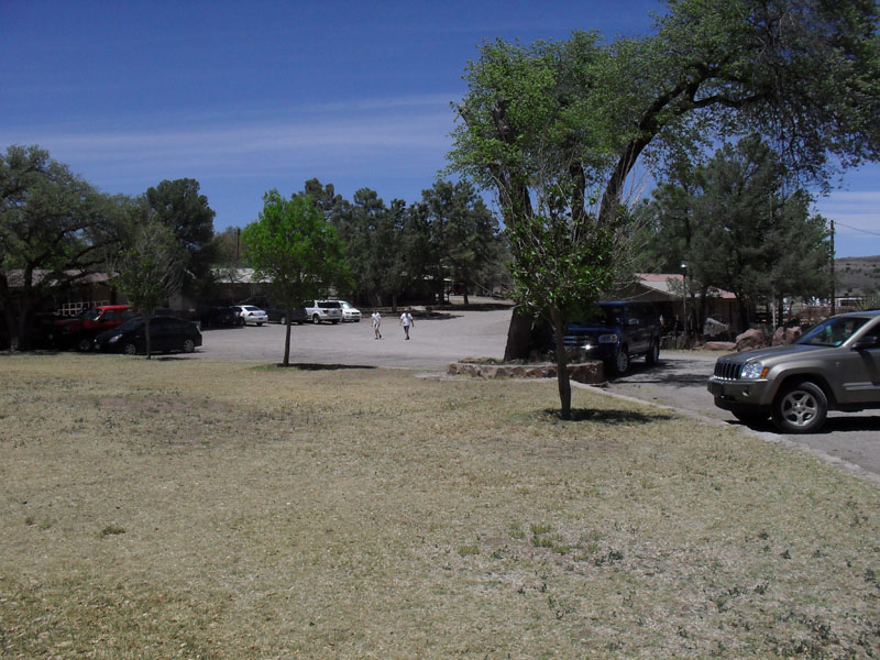 Area outside ranch offices