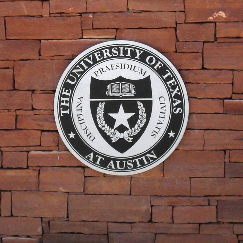 University of Texas sign at McDonald