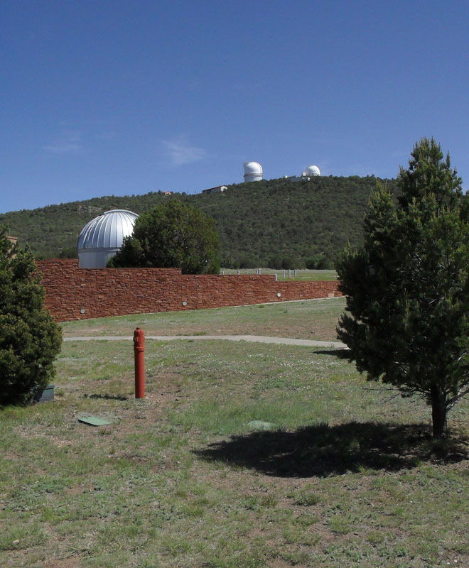 McDonald Observatory, from the car park
