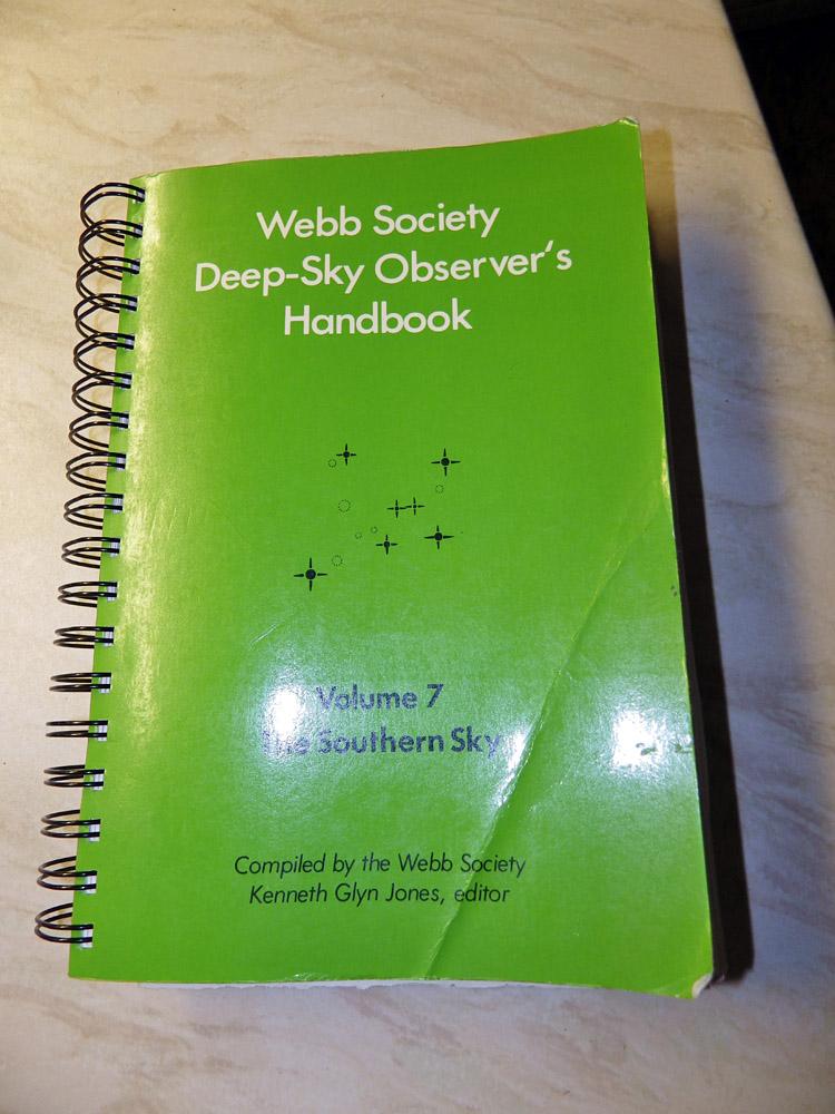 Handbook no 7, Southern Skies
