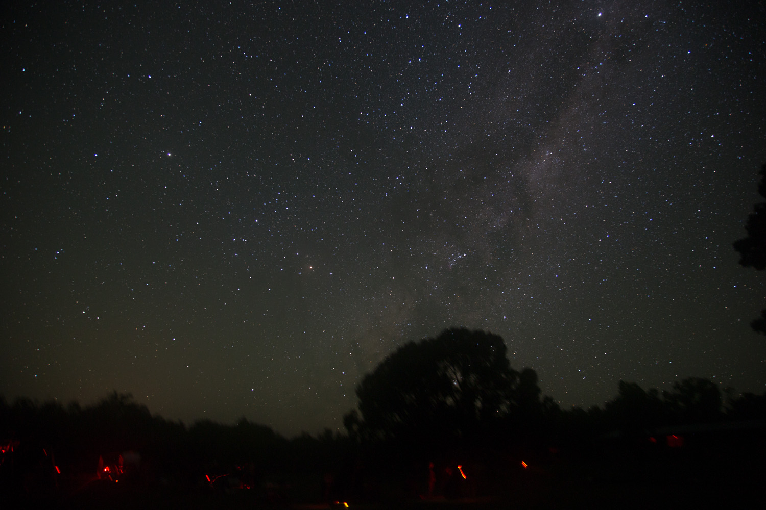 Milky Way rising over OzSky