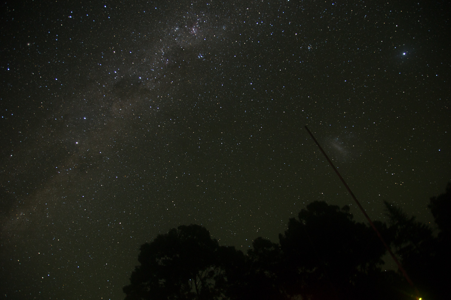 The Southern Milky way and the Large Magellanic Cloud