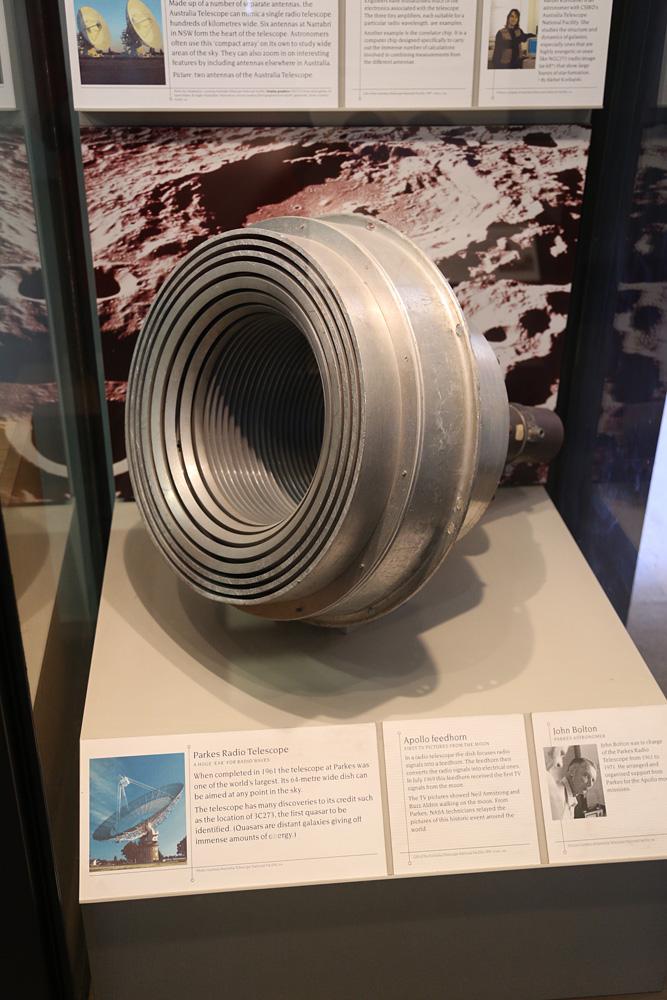 Parkes Telescope Apollo Feedhorn